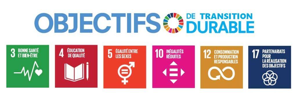 Nous participons aux objectifs de transition durable