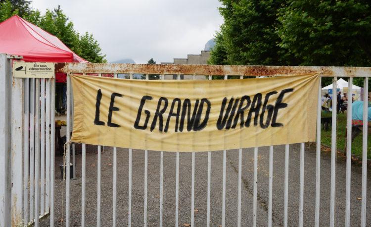 La bannière du Festival Grand Virage